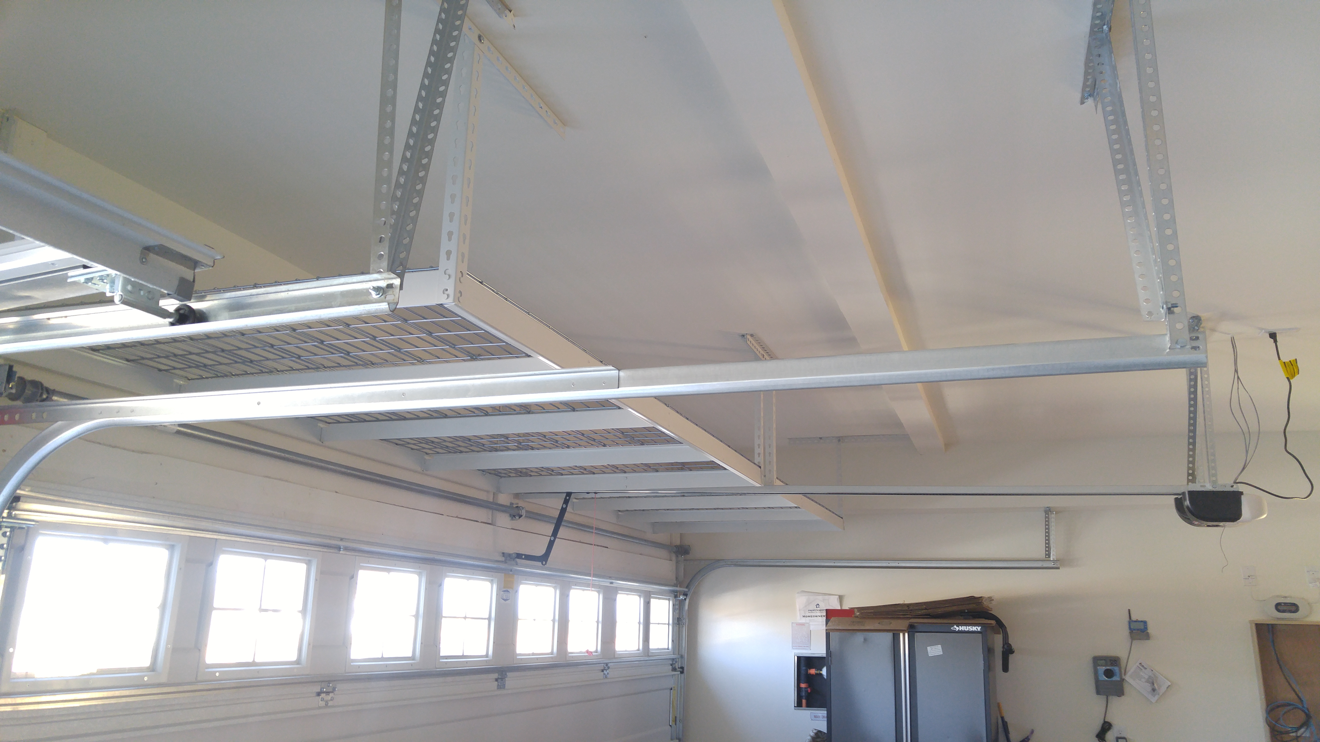 Cdr Overhead Storage Racks Gallery Garage Overhead