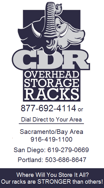 CDR Overhead Storage Racks Stockton CA - Garage Overhead Storage Racks Stockton CA