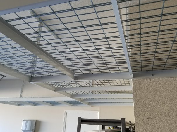 CDR Overhead Storage Racks - Garage Overhead Storage Racks Stockton CA